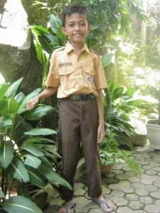 NANDA jongen 9 jaar 3e klas lagere school