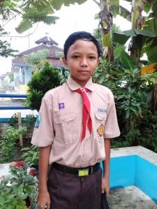 BIO jongen 12 jaar 1e klas Junior High School